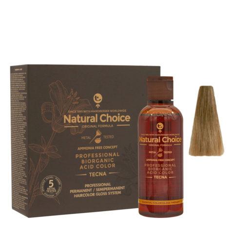 8.32 Biondo chiaro oro naturale Tecna NCC Biorganic acid color 3x130ml