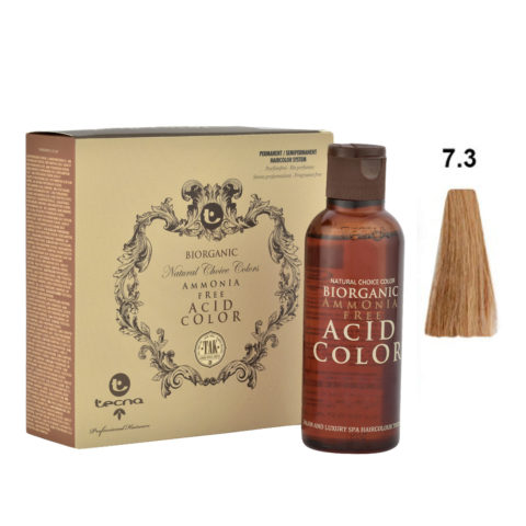 7.3 Biondo medio dorato Tecna NCC Biorganic acid color 3x130ml