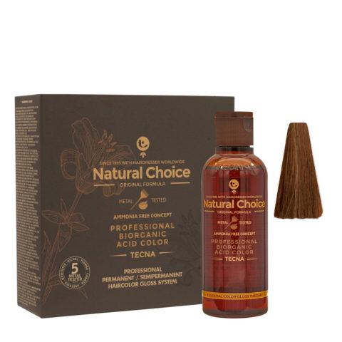 6.35 Biondo scuro wood naturale Tecna NCC Biorganic acid color 3x130ml