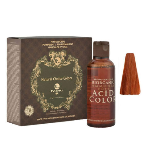 7.43 Biondo rame dorato Tecna NCC Biorganic acid color 3x130ml