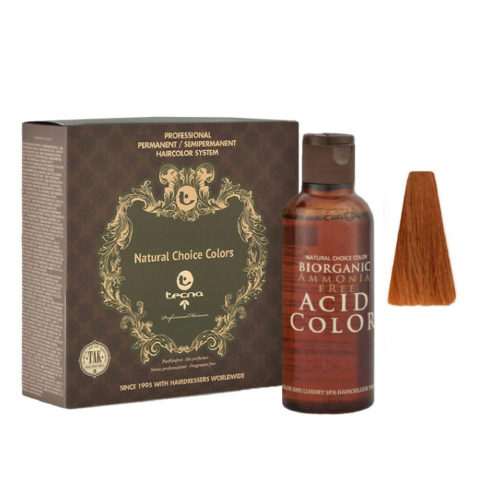 9.43 Biondo chiarissimo rame dorato Tecna NCC Biorganic acid color 3x130ml
