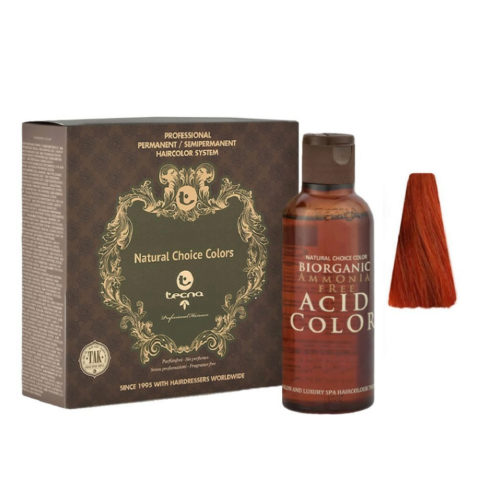 7.6 Biondo medio rosso Tecna NCC Biorganic acid color 3x130ml