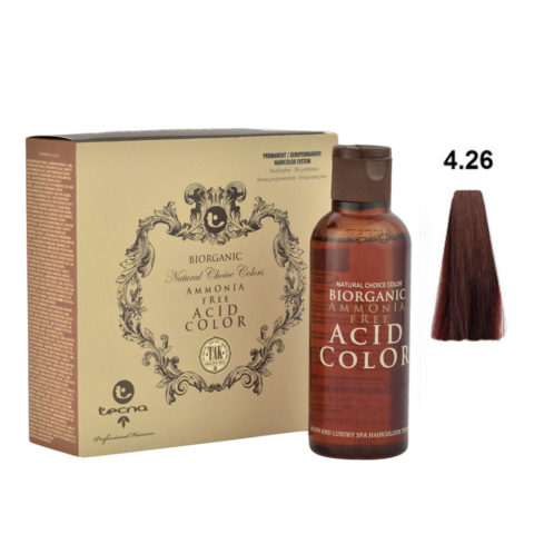 4.26 Castano rosso irisée Tecna NCC Biorganic acid color 3x130ml