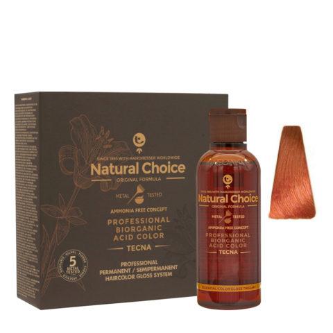 9.44 Biondo chiarissimo rame intenso Tecna NCC Biorganic acid color 3x130ml