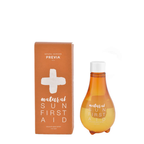 Previa Natural Sun First Aid Colour Save Spray 160ml - spray protettivo del colore