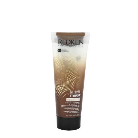 Redken All soft mega Megamask 200ml - trattamento intenso per capelli medio-grossi molto secchi