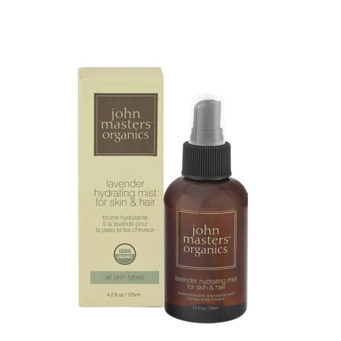 John Masters Organics Skincare Lavender Hydrating Mist For Skin & Hair 125ml