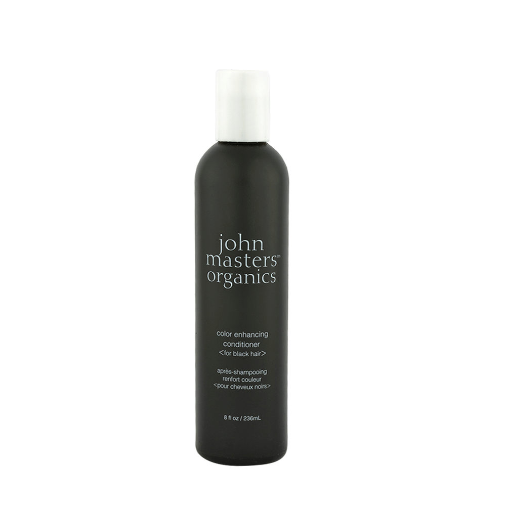 John Masters Organics Color Enhancing Conditioner Black 236ml - balsamo colorante nero