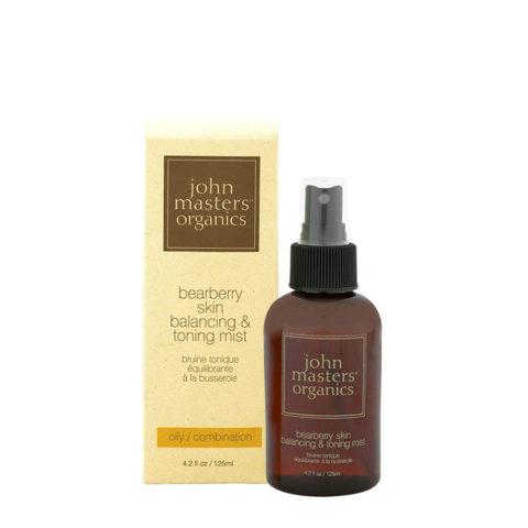 John Masters Organics Bearberry Oily Skin Balancing & Toning Mist 125ml - tonico riequilibrante viso