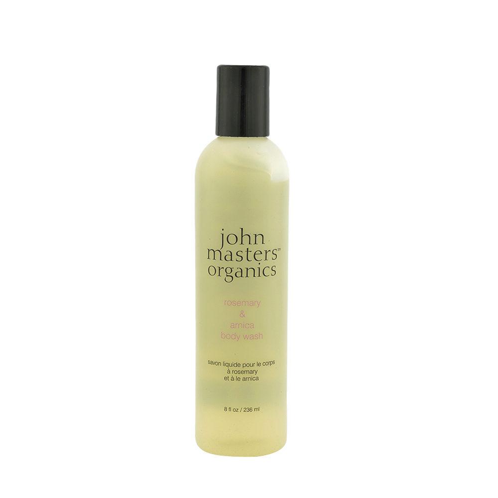 John Masters Organics Rosemary & Arnica Body Wash 236ml - bagnoschiuma rosmarino e arnica