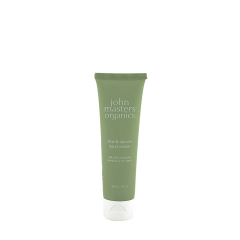 John Masters Organics Lime & Spruce Hand Cream 54ml - crema mani lime ed abete rosso