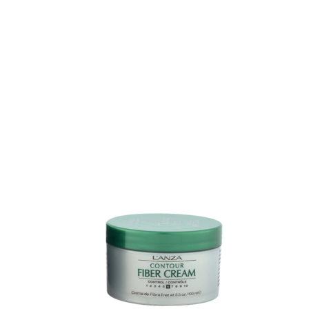 L' Anza Healing Style Fiber Cream 100ml - crema styling controllo medio