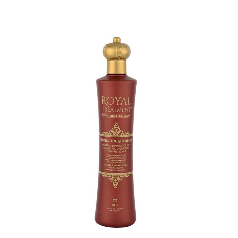 CHI Royal Treatment Hydrating Shampoo 355ml - per capelli secchi deboli colorati