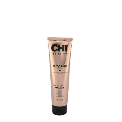 CHI Luxury Black seed oil Revitalizing masque 147ml - maschera capelli danneggiati