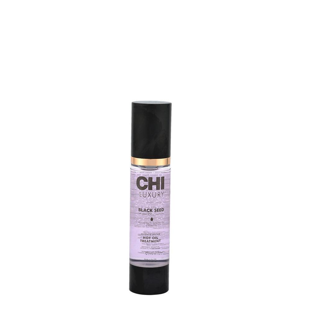 CHI Luxury Black seed oil Intense repair Hot oil treatment 50ml - olio ristrutturante intensivo