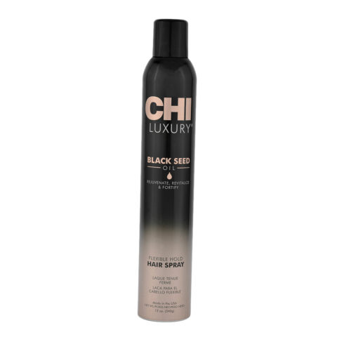 CHI Luxury Black seed oil Flexible hold Hair spray 340gr - lacca tenuta flessibile