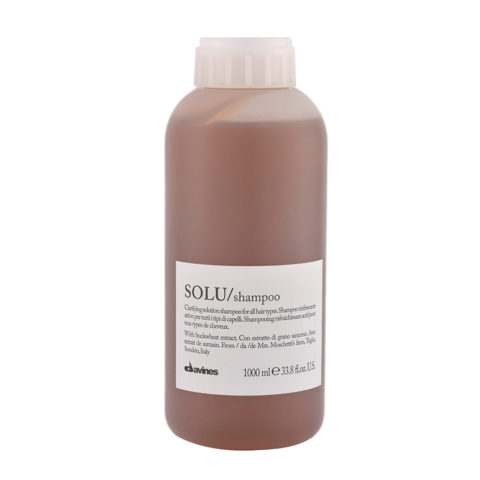 Davines Essential hair care Solu Shampoo 1000ml - shampoo rinfrescante