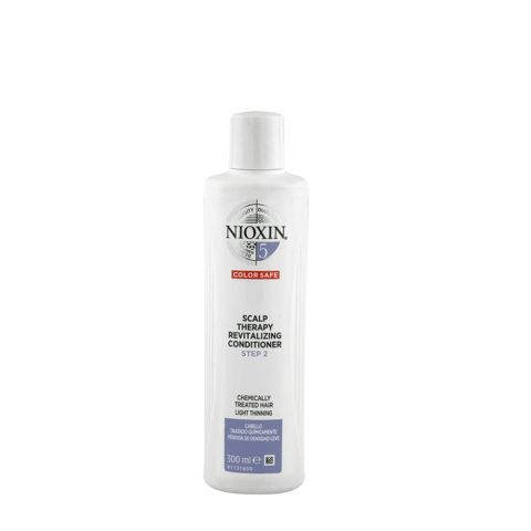Nioxin Sistema5 Scalp therapy Revitalizing conditioner 300ml - capelli trattati chimicamente e diradati
