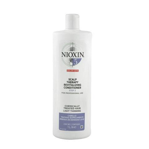 Nioxin Sistema5 Scalp therapy Revitalizing conditioner 1000ml - Balsamo anticaduta