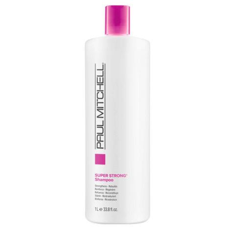 Paul Mitchell Super strong shampoo 1000 ml - rinforzante ristrutturante