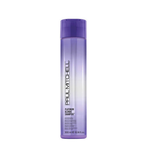 Paul Mitchell Blonde Platinum blonde shampoo 300ml - shampoo antigiallo per biondi, grigi, bianchi