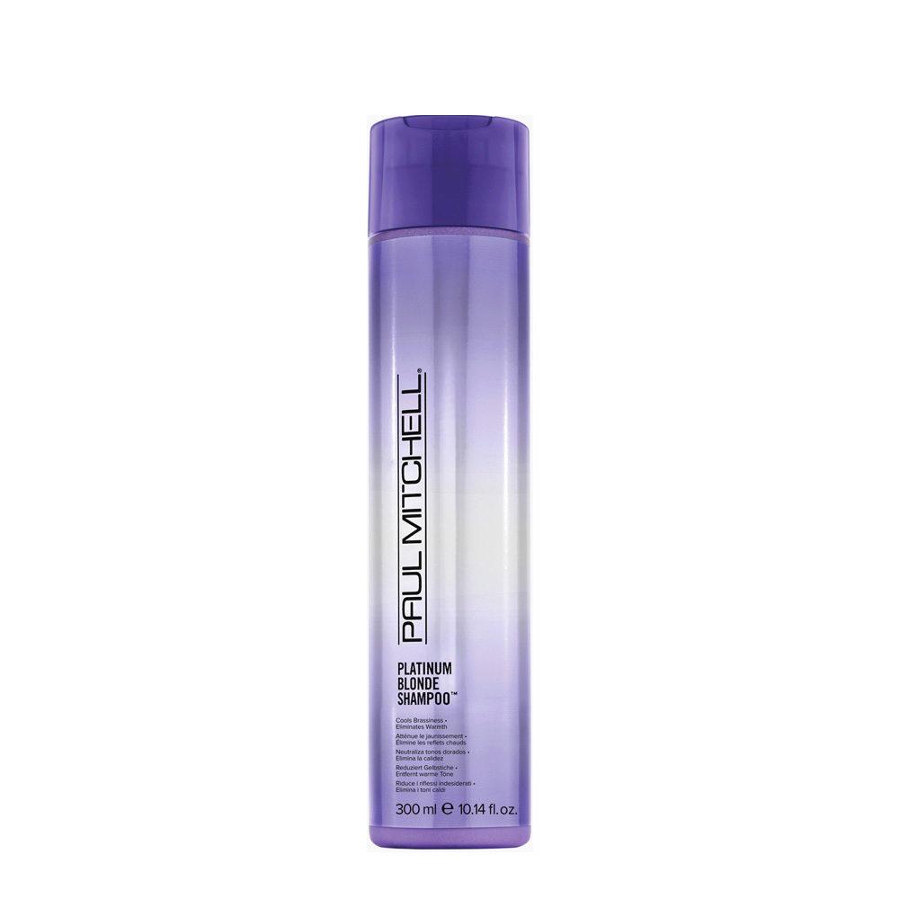 Paul Mitchell Blonde Platinum blonde shampoo 300ml - shampoo antigiallo cd4bba221c6d
