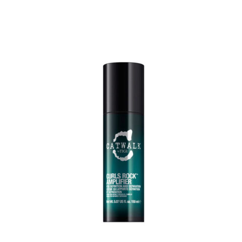 Tigi Catwalk Curlesque Curls Rock Amplifier 150ml - amplificatore ricci