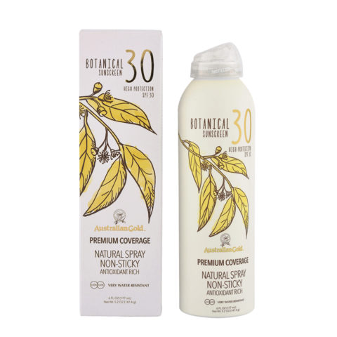 Australian Gold Botanical Line Natural Spray SPF30, 177ml - protezione solare minerale