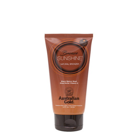 Australian Gold Sunshine Bronze Natural Bronzer 130ml - intensificatore con natural bronze