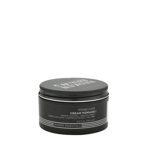 Redken Brews Man Maneuver Cream pomade 100ml - Cera Capelli Uomo Tenuta Media