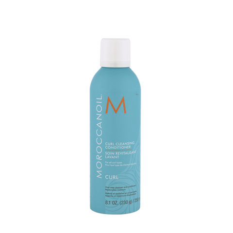 Moroccanoil Curl Cleansing conditioner 250ml - shampoo e balsamo 2 in 1 per capelli ricci