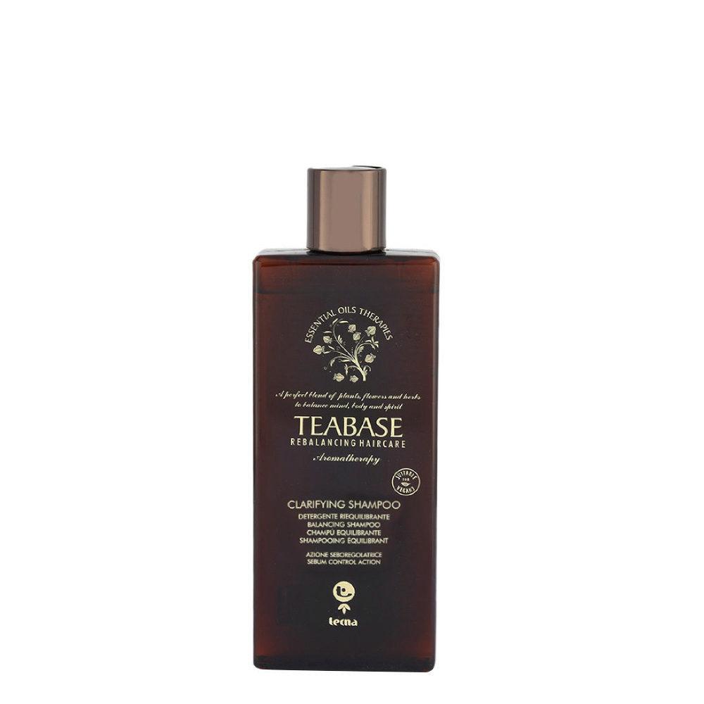 Tecna Teabase aromatherapy Clarifying shampoo 250ml - shampoo purificante per cute grassa