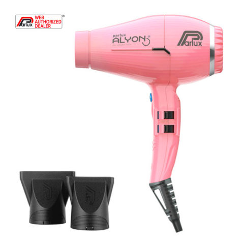 Parlux Alyon Air ionizer tech Eco friendly Rosa - asciugacapelli