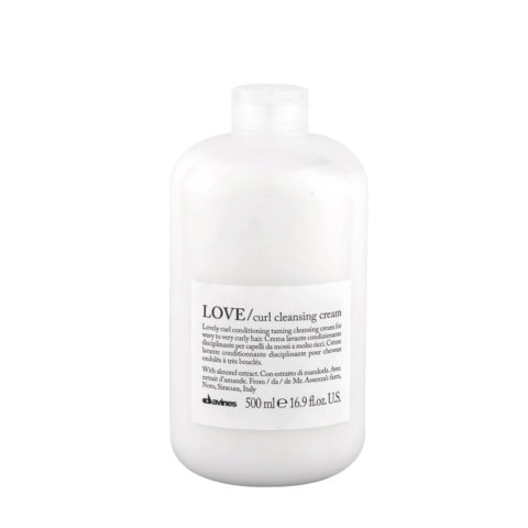 Davines Essential haircare Love curl Cleansing cream 500ml - crema lavante condizionante