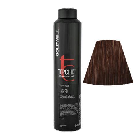 6N@RB Biondo scuro illuminato rosso castano Goldwell Topchic Elumenated naturals can 250gr