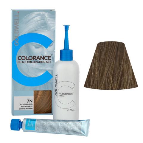 7N Biondo medio naturale Goldwell Colorance Naturals Home set tb 30ml Lozione 60ml
