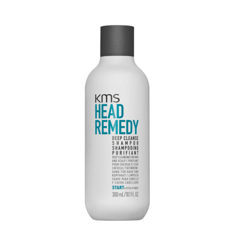KMS Head Remedy Deep cleanse Shampoo 300ml - Shampoo purificante