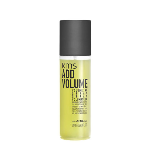 KMS Add Volume Volumizing Spray 200ml - Spray Volumizzante