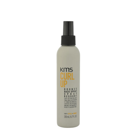 KMS CurlUp Bounce Back Spray 200ml - attivatore ricci
