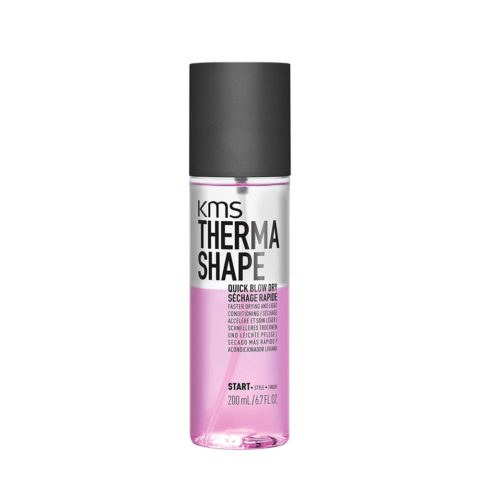 Kms Therma Shape Quick blow dry 200ml - Velocizza E Facilita L'asciugatura