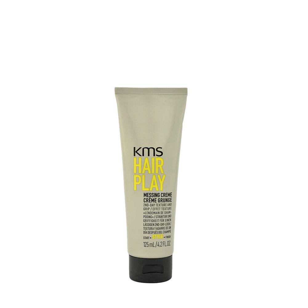 KMS Hair Play Messing Creme 125ml Cera Tenuta Leggera