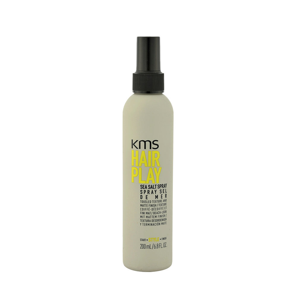 KMS Hair Play Sea Salt Spray 200ml Spray Al Sale Del Mar Morto Dona Definizione