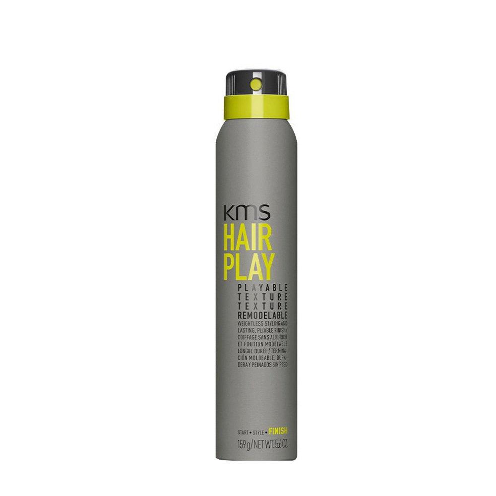 KMS Hair Play Playable Texture 200ml Spray Tenuta Morbida E Versatile