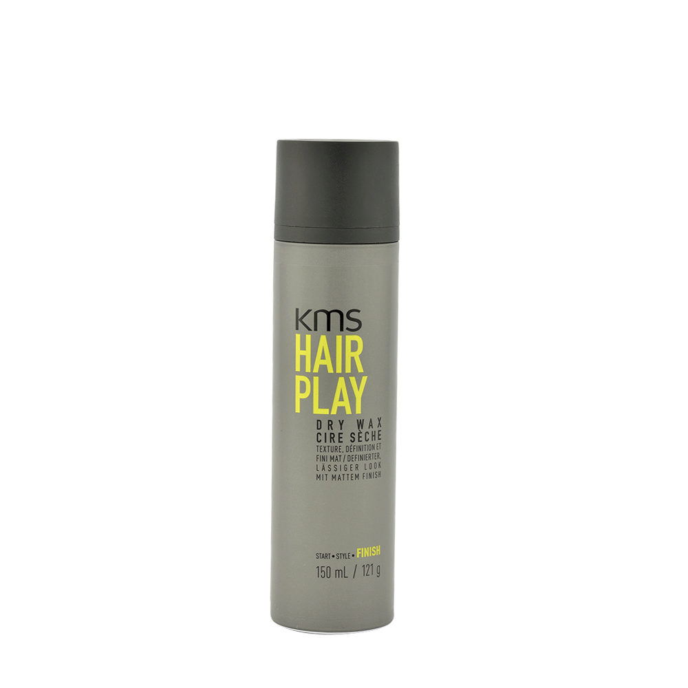 KMS Hair Play Dry Wax 150ml - Cera Spray Tenuta Leggera