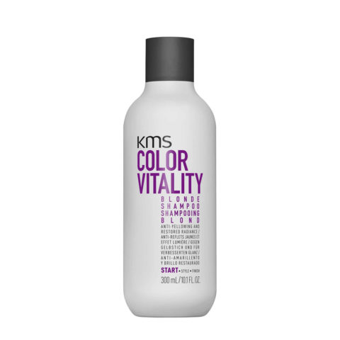 KMS Color Vitality Blonde Shampoo 300ml - Shampoo Antigiallo