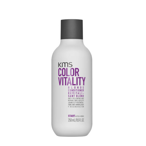 KMS Color Vitality Blonde Conditioner 250ml - Balsamo Antigiallo Idratante Ristrutturante