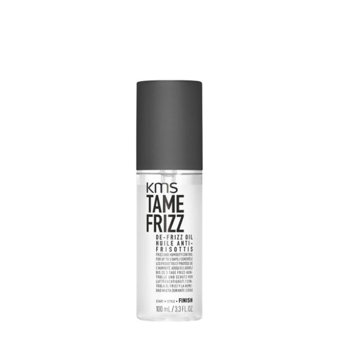 KMS Tame Frizz De-Frizz Oil 100ml - Olio Anticrespo e Anti Umidità A Lunga Durata