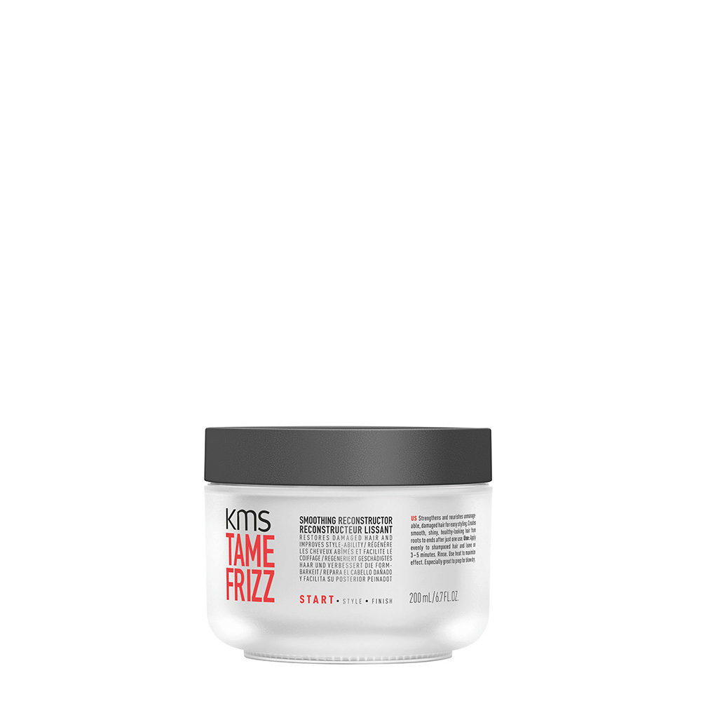 KMS Tame Frizz Smoothing reconstructor 200ml Maschera Anticrespo Ristrutturante