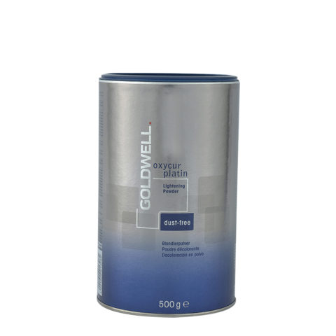 Goldwell Oxycur Platin Dustfree 500gr - polvere decolorante