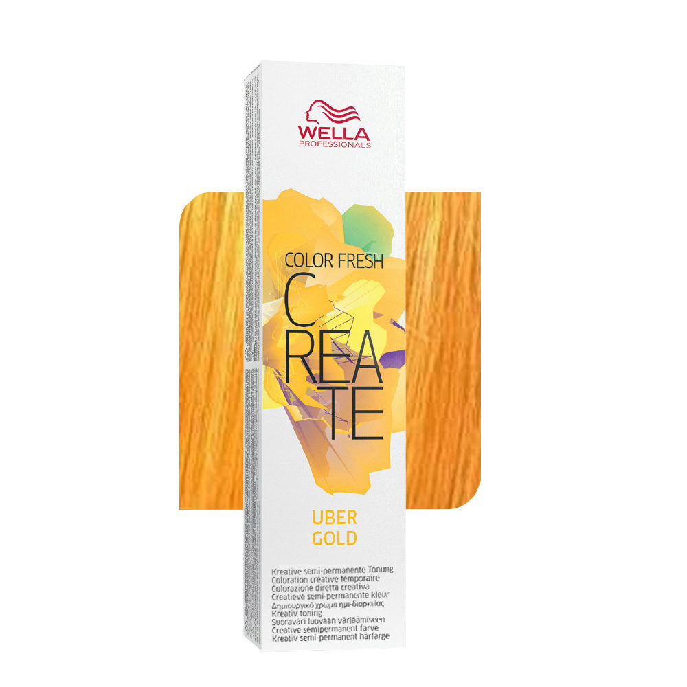 Wella Color fresh Create Uber gold 60ml - Hair Gallery 2feeaa5c621c